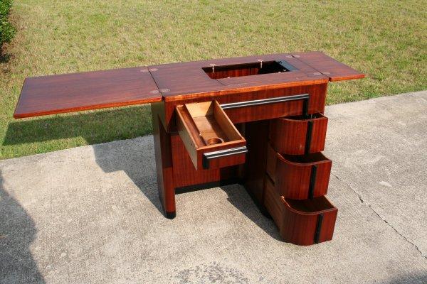 in art deco furniture cabinet